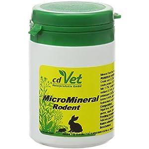 cdVet Naturprodukte MicroMineral für Nager 60 g