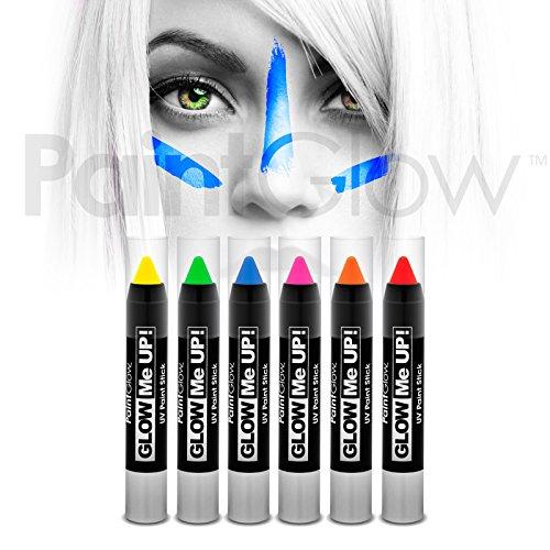 paintglow-uv-neon-face-body-paint-stick-6-pack-halloween-makeup-face-paint