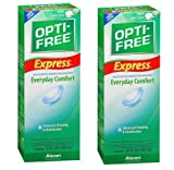 #1: Opti-Free Express Multi-purpose Disinfecting Solution, 300ml Bottle (Imported) Bye 1 Get 1 Free