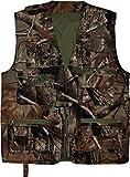 normani Outdoor Jagd- und Anglerweste mit vielen praktischen Taschen und Sonnenschutz Farbe Camouflage Größe XL