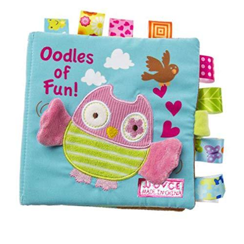 Ogquaton Libro imágenes tela alta calidad Bebé Popular