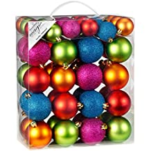 Bunte Christbaumkugeln Kunststoff.Suchergebnis Auf Amazon De Für Weihnachtskugeln Bunt Kunststoff