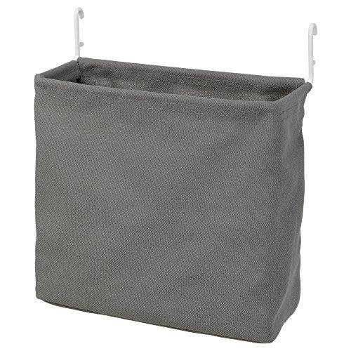 Ikea Asien Skadis, Aufbewahrungstasche, weiß, Grau