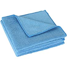 ARNV Microfiber Cloth for Detailing, Cleaning and Polishing (Pack of 4, Blue)