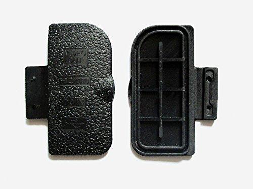 Ersatz 5Pcs Body thuamb USB Grip Seitliche Bottom Cover Gap Gummi für Nikon D300Digital Kamera Reparatur Teil USB Rubber (Nikon D300 Body)