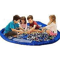 Children Play Mat BigNoseDeer bambino pieghevole giocattolo del sacchetto di immagazzinaggio dei bambini Tappeto giocattolo del bambino Organizzatore 60 pollici (150 cm)