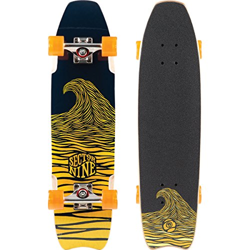 sector-9-shark-bite-complete-skateboard-yellow
