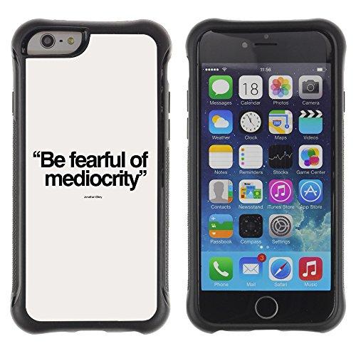 """Graphic4You """"Expect Nothing..."""" Life Proverb Zitat Design Shockproof Anti-Rutsch Weichen Hülle Case Tasche Schutzhülle für Apple iPhone 6 / 6S Design #5"""