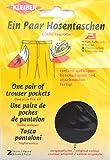 Kleiber 1 Paar Hosentaschen, schwarz