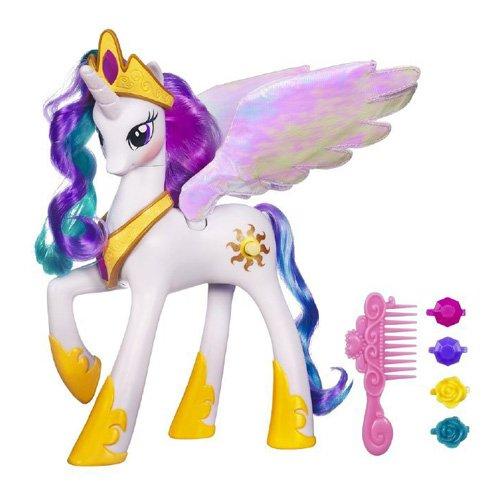 Hasbro 14A0633 - Einhorn Prinzessin (Prinzessin Celestia Flügel)