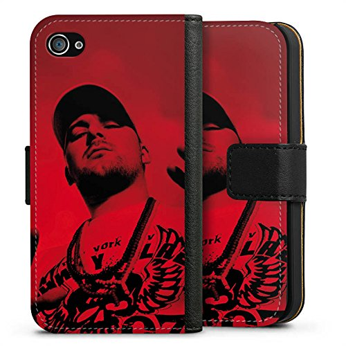 Apple iPhone X Silikon Hülle Case Schutzhülle Kool Savas Fanartikel Merchandise John Bello Story II Sideflip Tasche schwarz