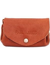 LE GUSTAVE NATUREL cartera de cuero, monedero estilo vintage marrón PAUL MARIUS Vintage & Retro
