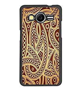PrintDhaba Pattern D-2235 Back Case Cover for SAMSUNG GALAXY CORE 2 G355H (Multi-Coloured)