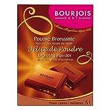Bourjois Delice De Poudre Bronzer 51 Light/Medium Complexions