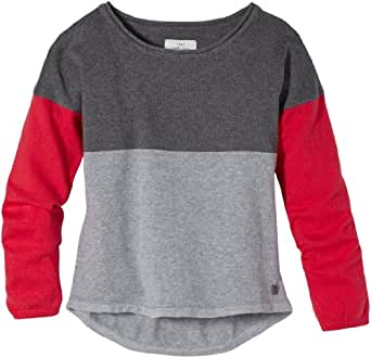 TOM TAILOR Kids Pull Manches longues Fille - Rouge - Rot (5419  smooth red) - FR : 14 ans (Taille fabricant : 164)
