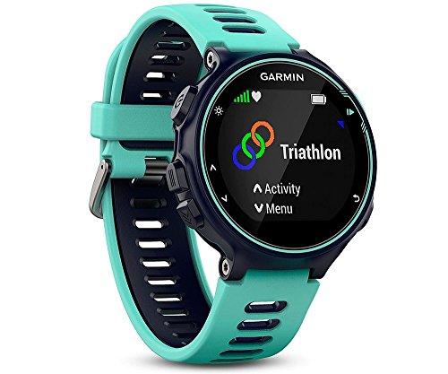 Garmin Forerunner 735XT Reloj Multisport, Unisex Adulto, Turquesa y Azul, M