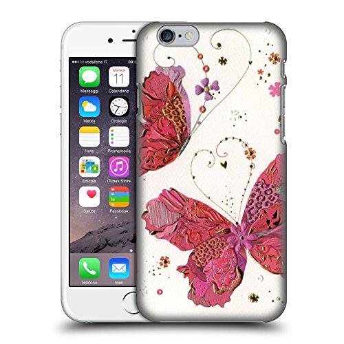 Offizielle Turnowsky Schmetterling-Ballett Primavera Ruckseite Hülle für Apple iPhone 6 / 6s Liebe Schmetterling