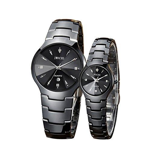 Stilvolle Keramik-Uhr/Paar Uhren/ Business casual Quartz-A