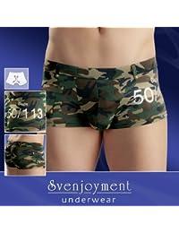 Svenjoyment - Boxer Homme Short Camouflage - Sous Vêtement Et Lingerie Homme Svenjoyment