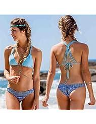Ensemble de bikini ¨¤ l¨¨vres en dentelle en dentelle pour dames