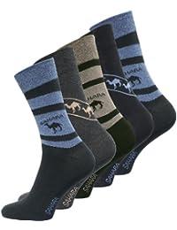 5, 10, 15 oder 20 Paar Herren Baumwoll Socken mit SAHARA-Muster von VCA®