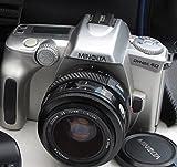 Appareil photo reflex Minolta Dynax 40–-+ objectif Minolta AF Zoom 35–70mm 1: 4(22) Ø 49mm–SLR Camera analogique–# # technique OK–by lll # #