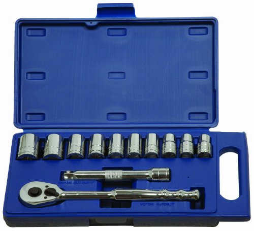 Williams 50669 1/2-Inch Drive Socket and Drive Tool Set, Metric, 12-Piece by Williams
