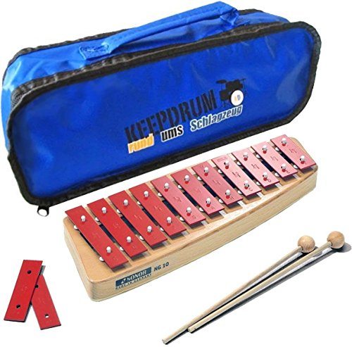 Sonor NG10 NG-10 Glockenspiel + keepdrum Tasche Bag