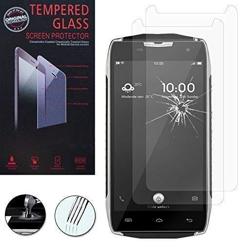 Vcomp ® Folie Schutzfolie Bildschirmschutz für Doogee T5/T5 Lite 4G 5.0