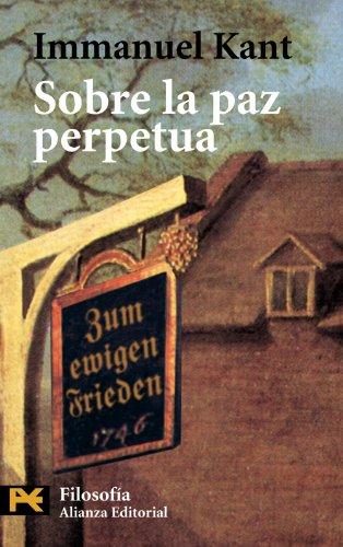 Sobre la paz perpetua (El Libro De Bolsillo - Filosofía)
