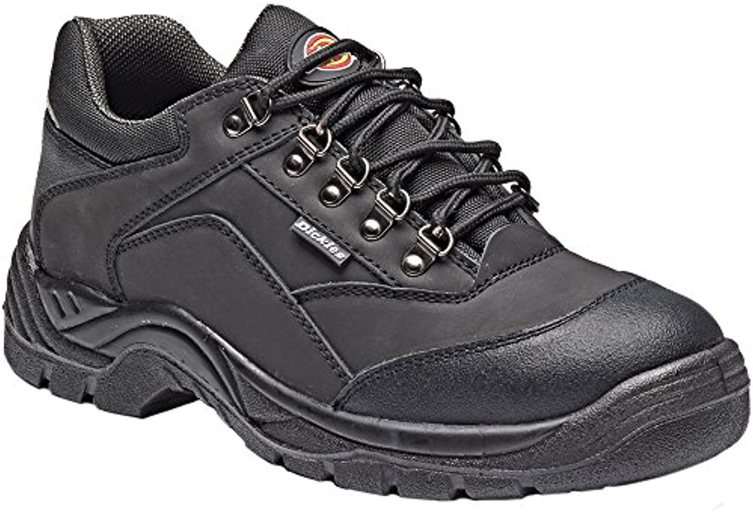 Dickies Mens Norden Work Safety Steel Toe Cap Midsole Leather Shoes