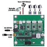 Grbl 0.9Impuestos platina para 1610/2418/3018DIY Máquina de grabado láser USB de conexión con controlador sin conexión mediante CNC de 3ejes