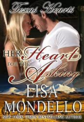 Her Heart for the Asking: a western romance (Texas Hearts Book 1) (English Edition)