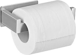 Aikzik Selbstklebend Toilettenpapierhalter, Toilettenpapierrollenhalter Ohne Bohren Edelstahl Klorollenhalter Wc Rollenhalter Papierhalter für Küche und Badzimmer