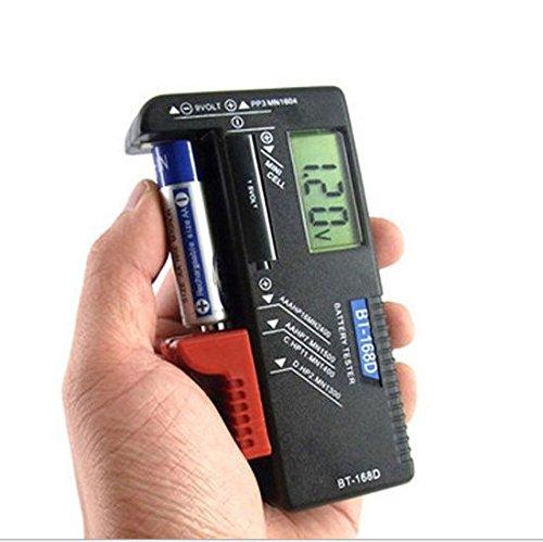 Batterietester Digital Primi Volt Checker für AA AAA C D 9V 1,5V Button Medaille cell-bt-168d