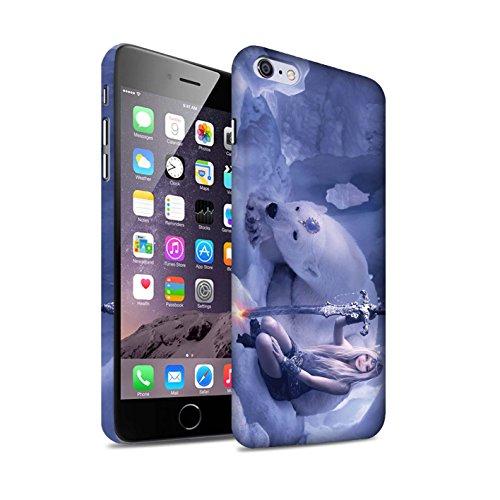 Officiel Elena Dudina Coque / Clipser Matte Etui pour Apple iPhone 6S+/Plus / Pack 9pcs Design / Super Héroïne Collection Reine des Glaces