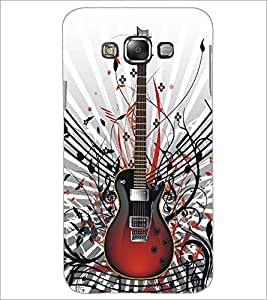 SAMSUNG GALAXY E7 GUITAR Designer Back Cover Case By PRINTSWAG