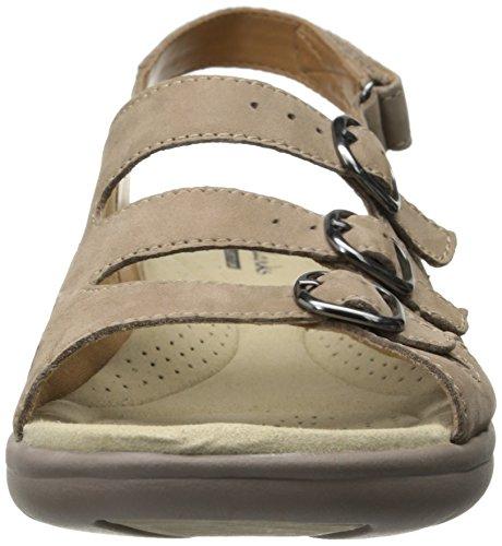 Clarks Saylie Medway Sandal Taupe