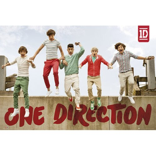One Direction - Poster Jumping (in 61 cm x 91,5 cm)