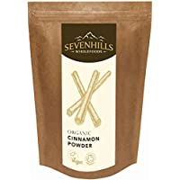 Sevenhills Wholefoods Organic Raw Cinnamon Powder (True Ceylon) 250g