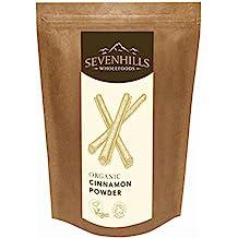 Sevenhills Wholefoods Roher Zimt Pulver Bio (Ceylon) 500g