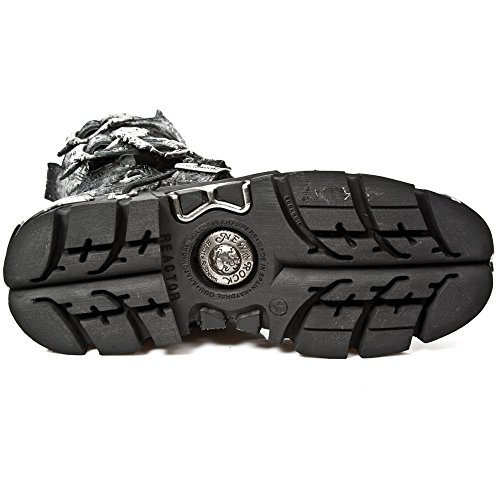 New Rock Metallic Schwarz Stiefel M.391-S4 BLACK, BLACK