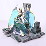 HEAGREN Jouet Statue League of Legends Jouets Modeles Personnages Objets de Collection/Souvenirs/LOL/Fallen Angel/Mogana 27CM Jouet