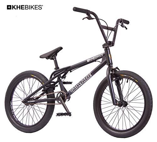 KHE BMX Fahrrad CATWEAZLE patentierter Affix 360° Rotor 20 Zoll schwarz nur 11,4kg!
