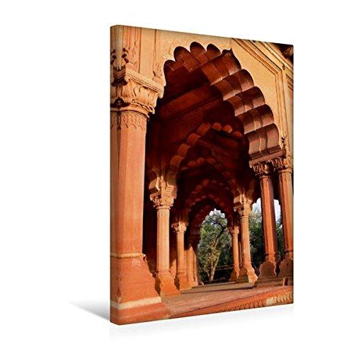 Calvendo Premium Textil-Leinwand 30 cm x 45 cm hoch, Ein Tor, viele Möglichkeiten | Wandbild, Bild auf Keilrahmen, Fertigbild auf Echter Leinwand, Leinwanddruck: Old Delhi, Delhi Orte Orte