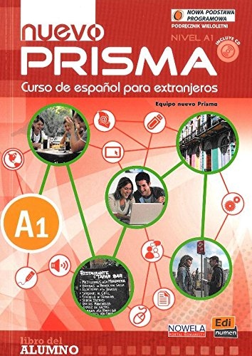 Nuevo Prisma nivel A1 Podrecznik+ CD wieloletnia