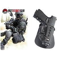 Cinturón Fobus Pistolera paleta Negro Mano Derecha RH GL2ND-BH Fobus pistolera Para Glock 17