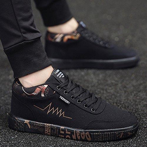 XUEQIN durevoli scarpe da uomo di tendenza scarpe scarpe casual scarpe tela di canapa autunno ( Colore : 5 , dimensioni : EU41/UK7.5-8/CN42 ) 7