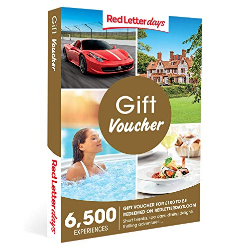 Red Letter Days £100 Gift Voucher – the gift of memories