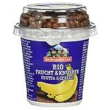 Berchtesgadener Land Bio Frucht und Knusper Joghurt Banane 3.9% Fett, 150g